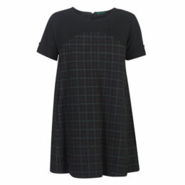 Benetton  PARIDON  women's Dress in Black