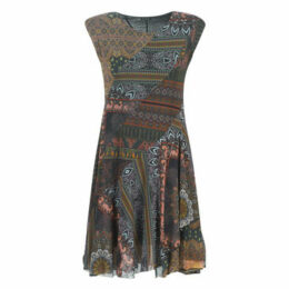 Desigual  GAELLE  women's Dress in Multicolour