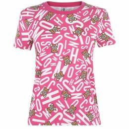 Moschino Underwear Teddy Print Underwear T Shirt