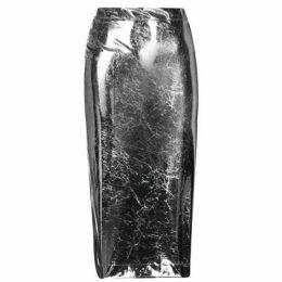 McQ Alexander McQueen Metallic Skirt