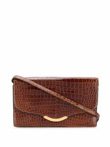 Hermès Pre-Owned 1972 Ondine clutch - Brown