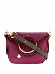 See By Chloé woven hoop handle bag - Pink