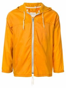 Helmut Lang Pre-Owned 1999 Military Zip parka jacket - Orange