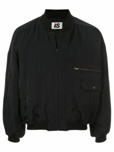 Issey Miyake Pre-Owned 1980's Sports Line logo lightweight bomber -
