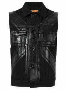 Helmut Lang Pre-Owned 1997 Union Flag vest - Black