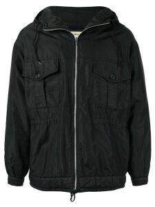 Helmut Lang Pre-Owned 1998 military parka coat - Black