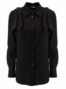 Prada Ruffled Detail Shirt