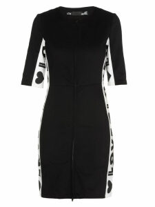 Love Moschino Cotton Twill Dress
