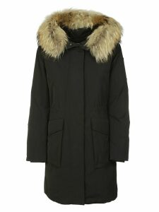 Woolrich Fur Trimmed Parka