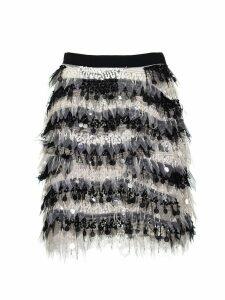 Elisabetta Franchi Celyn B. Black Miniskirt