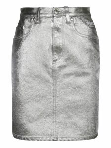 MSGM Denim Skirt