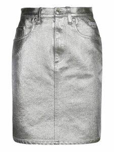 MSGM Denim Skirt
