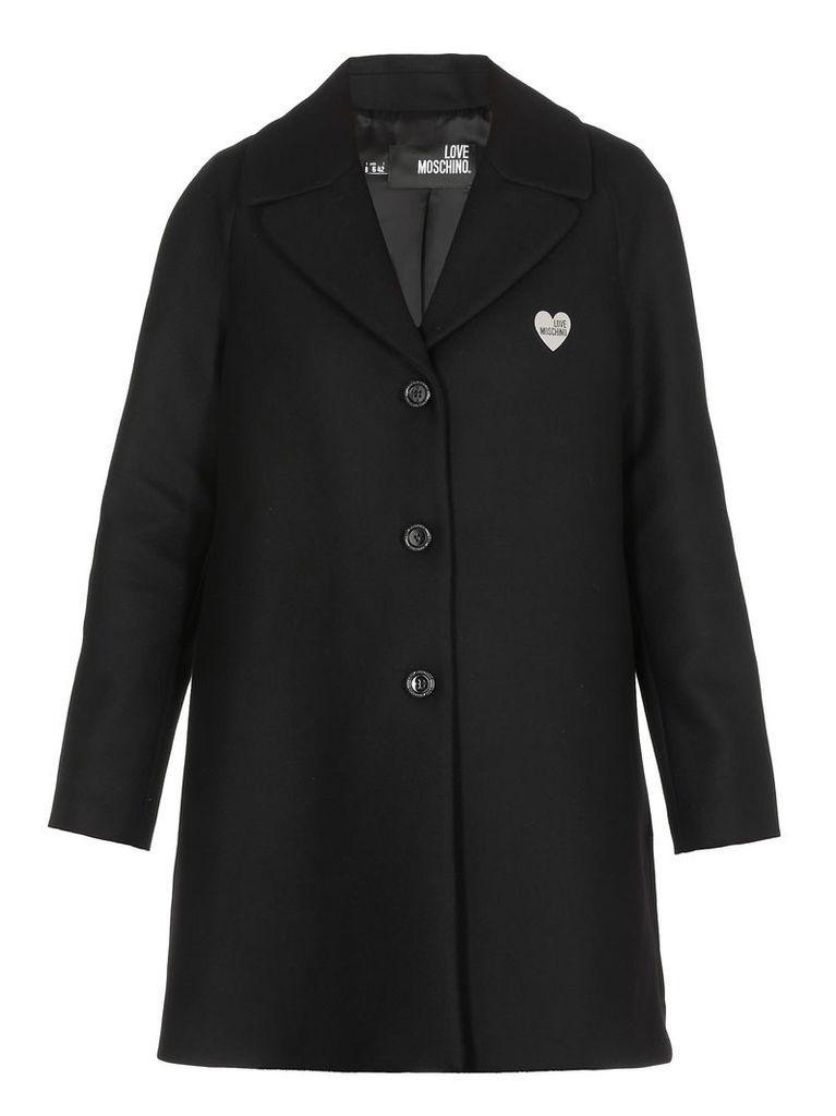 Love Moschino Single-breasted Coat