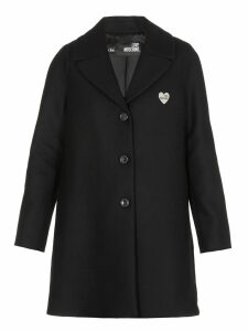 Love Moschino Single-breasted Coat