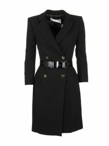 Elisabetta Franchi Celyn B. Black Dress With Belt