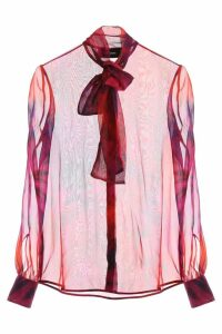 Dsquared2 Tie-dye Silk Shirt