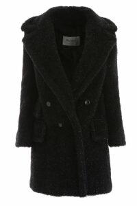 Max Mara Lastra Lurex Coat