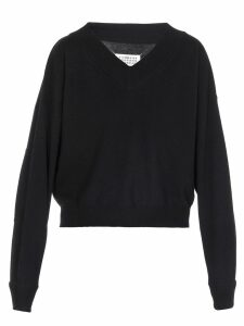 Maison Margiela Sweater With Shoulder Straps