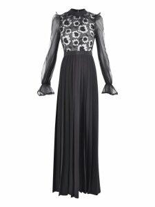 self-portrait Long Dress