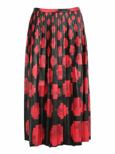 Marni Printed Pleated Skirt