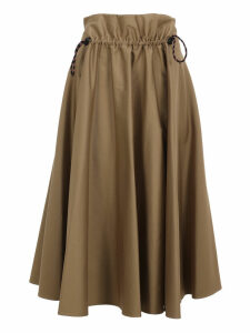 Golden Goose Drawstring High-waist Skirt