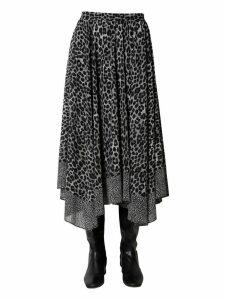 MICHAEL Michael Kors Georgette Midi Skirt