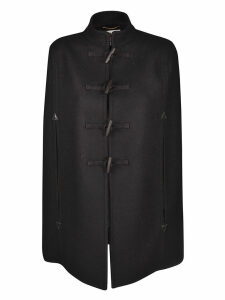 Saint Laurent Duffle Style Cape