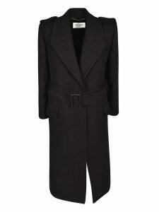 Saint Laurent Belted Coat