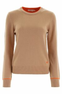 Tory Burch Cashmere Knit With Piping