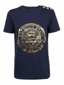 Balmain Ss 3 Btn Coin T-shirt