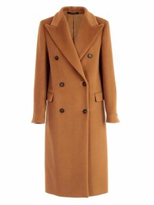 Tagliatore Coat Double Breasted W/belt