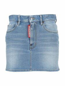 D Squared Classic Denim Mini Skirt