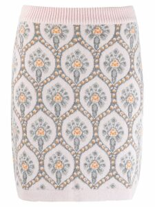 Be Blumarine Jacquard Skirt