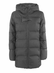 Fay Black Technical Fabric Down Jacket