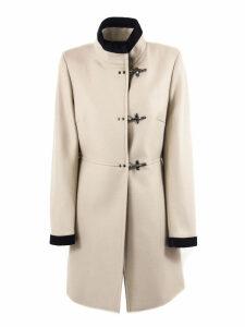 Fay Beige Virgin Wool-cashmere Jacket
