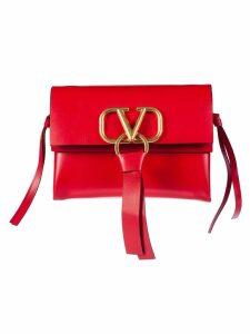 Valentino Garavani Logo Plaque Shoulder Bag