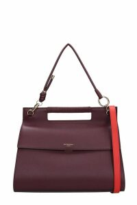 Givenchy Whip-large Tote In Bordeaux Leather
