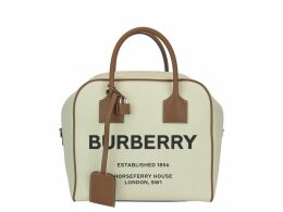 Burberry Horseferry Print Medium Cube Bag