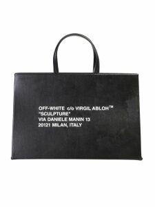 Off-White Medium Box Bag