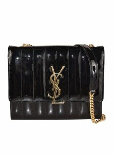 Saint Laurent Logo Plaque Shoulder Bag