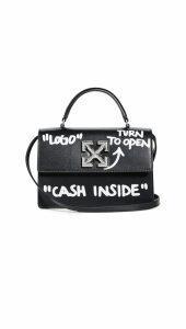 Off-White Jitney 1.4 Cash Inside Satchel