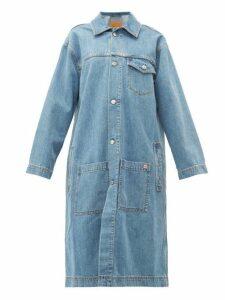 Martine Rose - Oversized Denim Jacket - Womens - Denim
