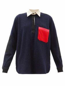 La Fetiche - Truma Wool Shirt - Womens - Navy