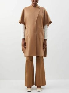 Edward Crutchley - Raja Print Lamé Wrap Skirt - Womens - Brown Multi