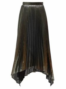 Altuzarra - Freya Pleated Midi Skirt - Womens - Silver