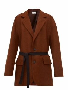 Raey - Oversized Single Breasted Wool Blazer - Womens - Bronze