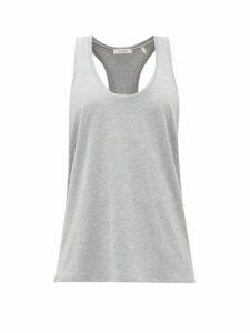 Vaara - Ana Racerback Tank Top - Womens - Grey