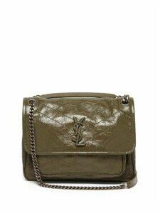 Saint Laurent - Niki Medium Leather Shoulder Bag - Womens - Khaki