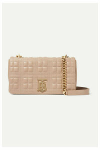 Burberry - Lola Small Quilted Leather Shoulder Bag - Sand