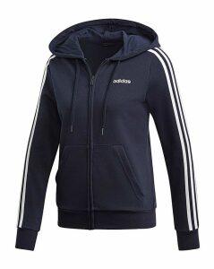 adidas 3 Stripe Full Zip Hoodie